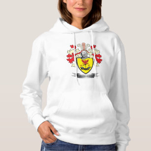 90219248d MacDonald Family Crest Coat of Arms Hoodie