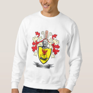 7899230b5 MacDonald Family Crest Coat of Arms Sweatshirt