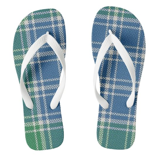 MacDonald Lord of the Isles Tartan Flip Flops