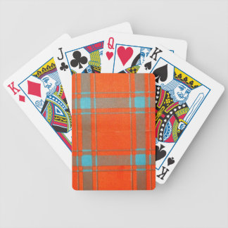 MACDONALD of SLATE FAMILY TARTAN Bicycle Playing Cards