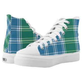 MacDonald of the Isle Scottish Tartan Plaid Hi-Top