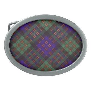 MacDonald Scottish Tartan Belt Buckle