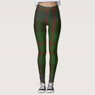 MacDonald Tartan Clan Plaid Leggings