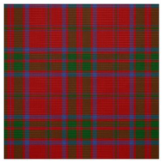 MacDonald Tartan Red, Green and Blue Plaid Fabric