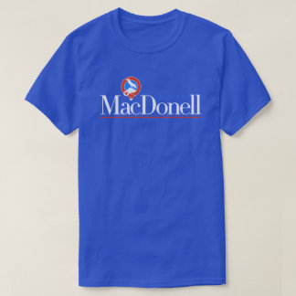 MacDonell 2016 (Blue Party) T-Shirt