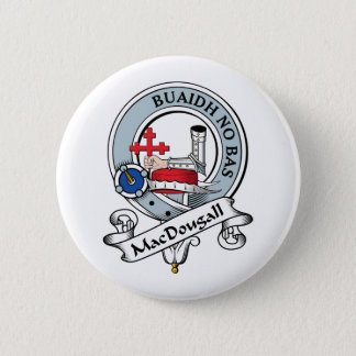 MacDougall Clan Badge 2 Inch Round Button