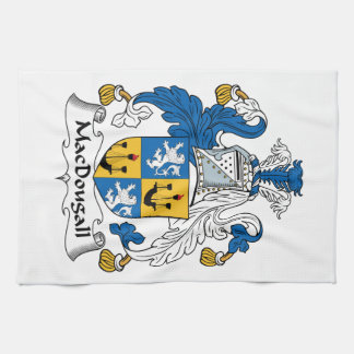 MacDougall Family Crest Kitchen Towel