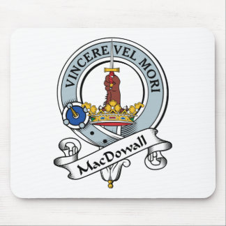 MacDowall Clan Badge Mouse Pad