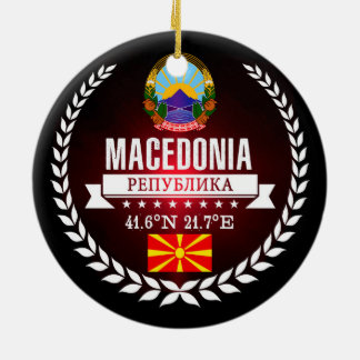 Macedonia Ceramic Ornament