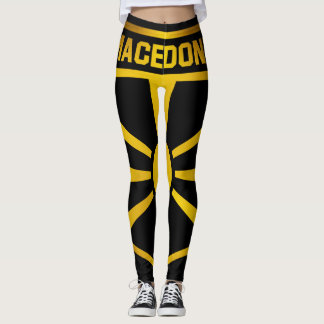 Macedonia Emblem Leggings