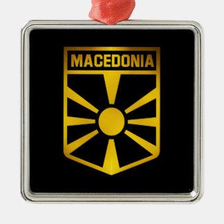 Macedonia Emblem Metal Ornament