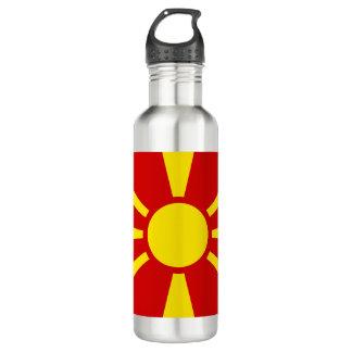 Macedonia Flag 710 Ml Water Bottle