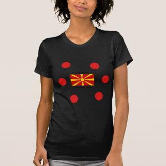 Macedonia Flag And Macedonian Language Design T-Shirt