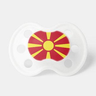Macedonia Flag Baby Pacifier