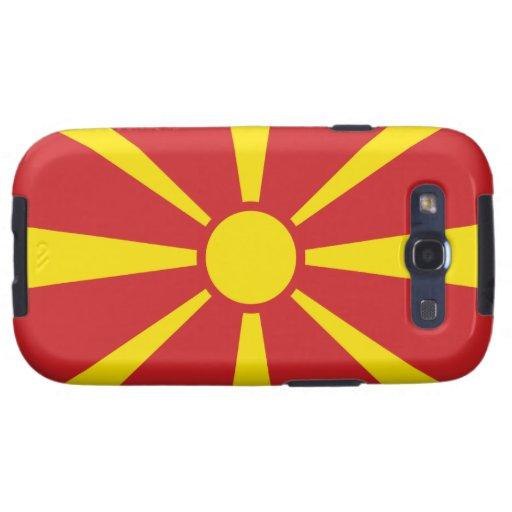 Macedonia Flag Galaxy SIII Cases