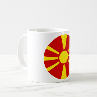 Macedonia Flag Coffee Mug