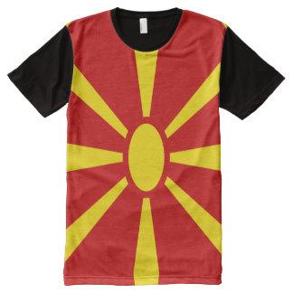 Macedonia Flag full All-Over-Print T-Shirt