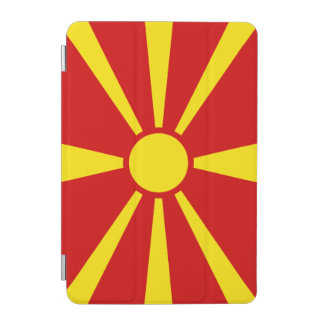 Macedonia Flag iPad Mini Cover