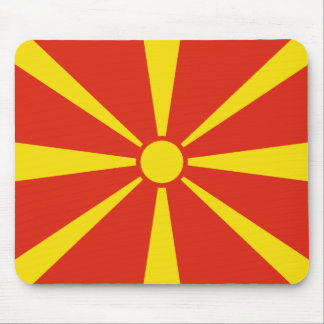 Macedonia Flag Mousepad