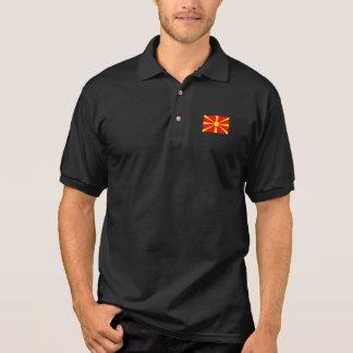 Macedonia Flag Polo Shirt