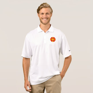 Macedonia Flag Polo Shirt