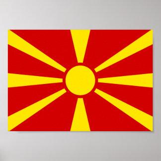 Macedonia Flag Poster