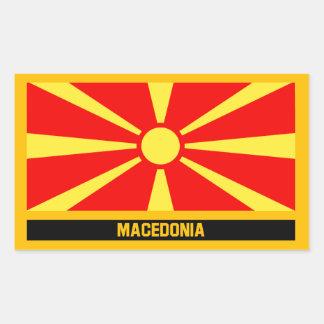 Macedonia Flag Sticker