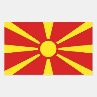Macedonia Flag Sticker* Sticker