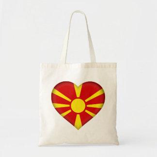 Macedonia Flag Tote Bag