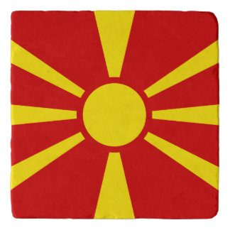Macedonia Flag Trivet