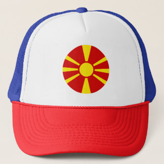 Macedonia Flag Trucker Hat