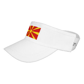 Macedonia Flag Visor