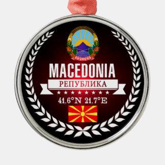 Macedonia Metal Ornament
