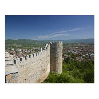 MACEDONIA, Ohrid. Car Samoil's Castle / Postcard