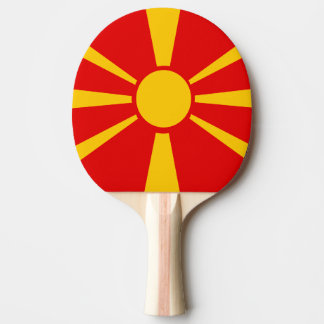 Macedonia Ping Pong Paddle