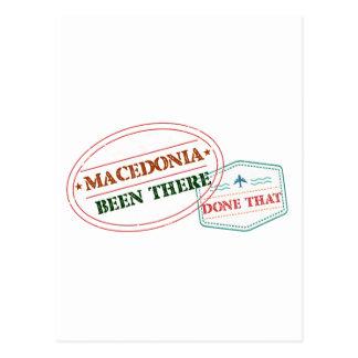 MACEDONIA POSTCARD