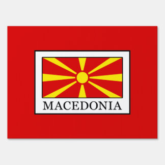 Macedonia Sign