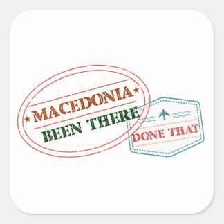 MACEDONIA SQUARE STICKER
