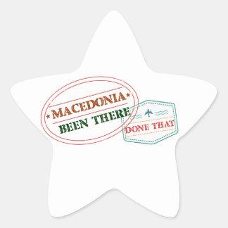 MACEDONIA STAR STICKER