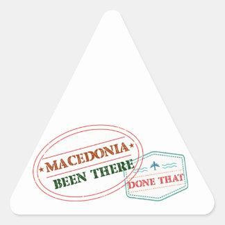 MACEDONIA TRIANGLE STICKER