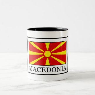 Macedonia Two-Tone Coffee Mug