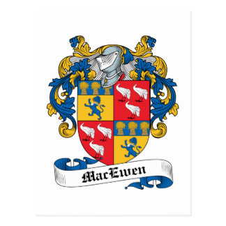 MacEwen Family Crest Post Cards
