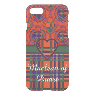 Macfarlane clan Plaid Scottish tartan iPhone 7 Case
