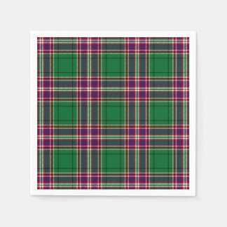 MacFarlane Hunting Tartan Print Disposable Napkins
