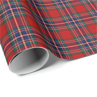 MacFarlane Red Tartan Wrapping Paper