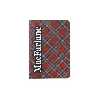 MacFarlane Scottish Tartan Passport Holder