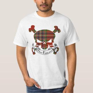 MacFarlane Tartan Skull T-Shirt