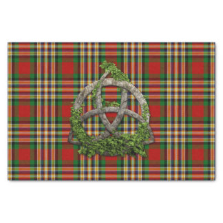 MacGill Tartan And Celtic Trinity Knot Tissue Paper