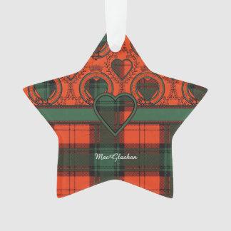 MacGlashan clan Plaid Scottish kilt tartan