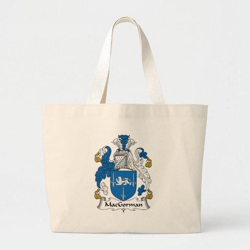 MacGorman Family Crest Canvas Bag